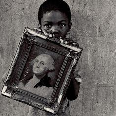 George Washington, Photo by Keith Carter, 1990