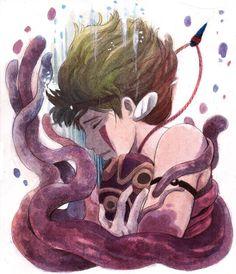 San from Princess Mononoke Studio Ghibli Art, Studio Ghibli Movies, Hayao Miyazaki, Grave Of The Fireflies, Japanese Animated Movies, Howls Moving Castle, Anime Art, Fan Art, Drawings