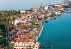 Lake Garda, #Italy has all its neighboring star's pulse-racing beauty and old-world charm—minus the day-trippers and celebrity-spotters.