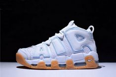 71478de8215 Authentic Mens and Womens Nike Air More Uptempo Ocean Bliss 415082-107 Kd  Shoes
