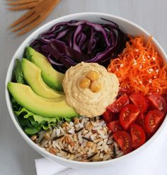 Clear Skin Vegetable Rice Bowl | Olivia Jenkins