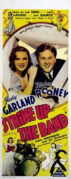 """Strike Up The Band"" (1940) Mickey Rooney, Judy Garland"