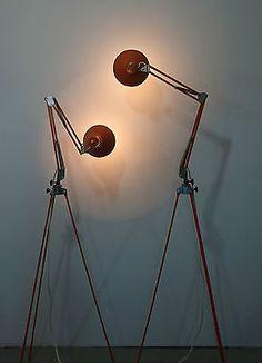Tripod Stativ Steh Gelenk Arbeits Architekten Lese Lampe Industrie Design Loft