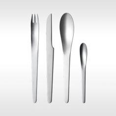 Georg Jensen Arne Jacobsen 24-delige bestekset door Arne Jacobsen