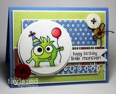 Happy Birthday Little Monster by Jodi Collins