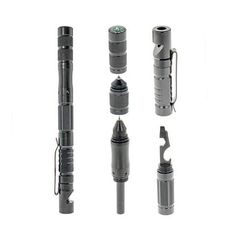 Details about  /Multi-Function Stainless Steel Outdoor Survival Tool Self Defense Glass Breaker