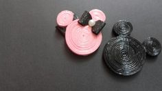 Cupple quilled mickey mouse