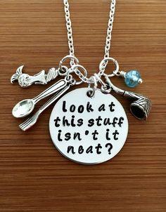 Inspiriert kleine Meerjungfrau Halskette-Look von EnchantMeJewelry