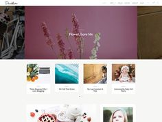 Dandeliona - A WordPress Blog Theme by NadaNora on @creativemarket