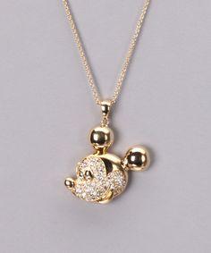 Crystal Mickey Gold Necklace. Me lo regalo si lo encuentro. HERMOSO.