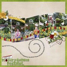 EPCOT Flower & Garden Festival - MouseScrappers - Disney Scrapbooking Gallery