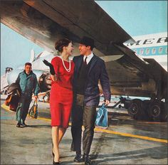 American Airlines Advert 1960s