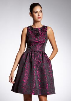 This is the exact shape of Allies semi formal dress...soo cute!