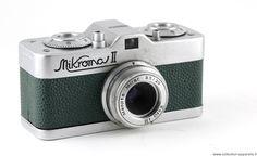 Meopta Mikroma II Vintage cameras collection by Sylvain Halgand