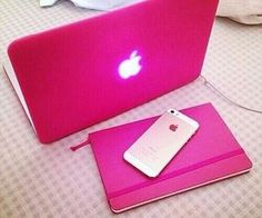#pink #mac #laptop #
