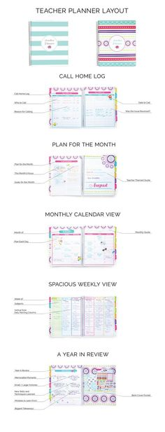 The Ultimate Teacher Planner Printable teacher planner, Planners