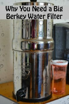 Big berkey water filter is great for the whole family even the kids