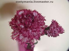 Гвоздика.Интерьерный цветок - гвоздики,украшение для интерьера,интерьерная композиция