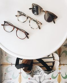Summer favorites! From top: The Hamptons sunglasses, Notting Hill in Ivory Tortoise and Shade in warm tortoise. @bookbaristas