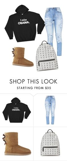 """""""BRING BACK MY PRESIDENT"""" by teleaht on Polyvore featuring UGG and MCM"""