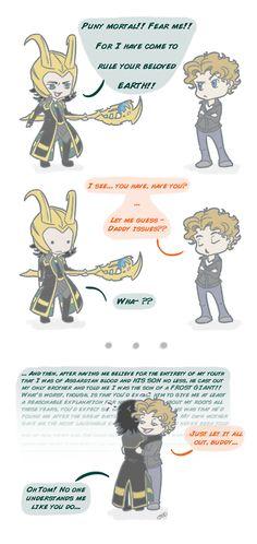 If Tom ever met Loki