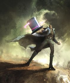 Vance Kovacs - Hatter M from The Looking Glass Wars