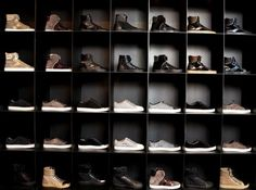 Shoecasing for the hubs, he would love this.