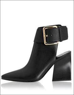 Shoe Crush: Sigerson Morrison Ice Buckle Booties