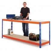 Max heavy duty workbench, 1800mm wide designed for heavy industrial items and uses.  great for bulky machinery.