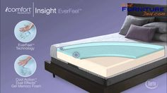 Serta Mattress - iComfort Insight Everfeel by GreatFurnitureDeal.com