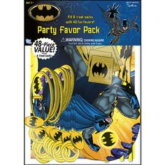 Batman Brave Value Favor Pack!