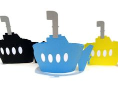 Submarine Cupcake Wrappers  Pick Your Colours  by cakeadoodledoo, $14.00