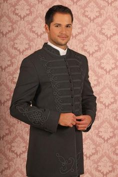 Szürke atilla, szürke 1K kikötéssel Wedding Outfits, Wedding Dresses, Hungarian Embroidery, Homeland, Steampunk, Vintage Outfits, Culture, Country, How To Wear