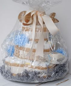 Make Baby Shower Diaper Cakes For Fun And Profit!