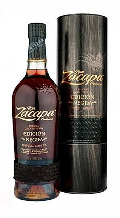 A limited Edicion Ron Zacapa which ahs been aged ina double charred American oak cask, which creates a richer more intense flavours with a distinctive smoky intensity and wood notes Alcohol Bottles, Liquor Bottles, Drink Bottles, Good Whiskey, Cigars And Whiskey, Vodka, Tequila, Cocktails, Cocktail Drinks