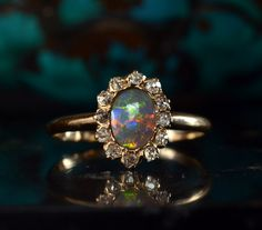 that opal. how do people go so nuts over diamonds when there are opals like that?