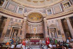 El Panteón de Agripa. Roma Italia