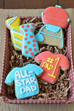 Fathers Day Cookies by Pennies on a Platter #Cookies #Fathers_Day #penniesonaplatter