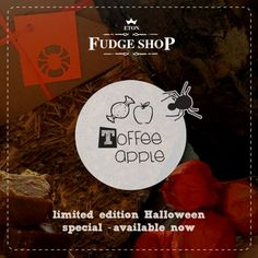 http://www.etonfudgeshop.co.uk  Toffee Apple Fudge Buy Online Eton Fudge Shop  #fudge #HalloweenTreats #HalloweenParty