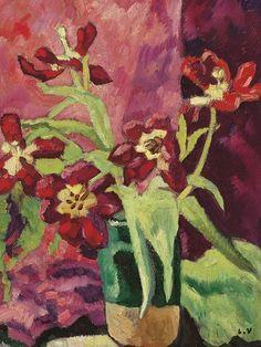 ❀ Blooming Brushwork ❀ garden and still life flower paintings - Louis Valtat