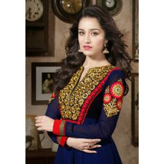 Fancy Royal Blue Salwar Kameez
