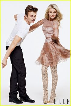 Kenny Wormald and Julianne Hough, Footloose Julianne Hough Footloose, Footloose 2011, Pretty People, Beautiful People, Beautiful Celebrities, Kenny Wormald, First Boyfriend, Movies And Series, Movie Couples