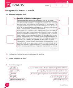 Cuaderno Actividades Lenguaje 5º Elementary Spanish, Spanish Class, Spanish Lessons, Acting, Homeschool, Classroom, Education, Reading, Spanish Activities