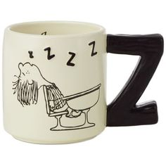 Peanuts® Peppermint Patty Mug, 12 oz. Enjoy a cup of joe to ensure you don't fall asleep at your desk like Peppermint Patty. Catch some zzzs—and chase them away—with this fun ceramic coffee mug. Perfect for Peanuts® fans! Disney Coffee Mugs, Disney Mugs, Cute Coffee Mugs, Cool Mugs, Great Coffee, Coffee Cans, Coffee Shop, Coffee Tables, Coffee Mug Quotes