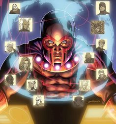 An Inhuman with the power to profile the future has emerged, upsetting the delicate balance of power between the Inhuman and Mutant nations. And the mutant master of magnetism, MAGNETO refuses to allow his people to fall by the wayside. Now, Magneto rallies those who would follow him to even the scales…even if it means risking war with Inhumans and Mutants alike to do it!