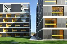 Housing Pilon in Ljubljana, Slovenia by Bevk Perović Arhitekti