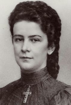 Elisabeth of Austria. 1890's.