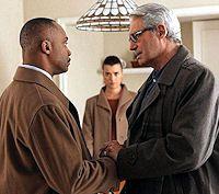 NCIS - Shabbatt Shalom - Director Vance with Ziva's father, Eli David
