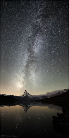 Stellar Sunshine - Milky Way over the Matterhorn | by Christian Klepp