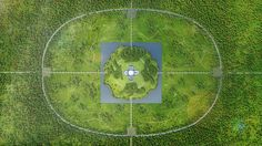 Wenda Gu, Landscape Plan with Calligraphy Hedges